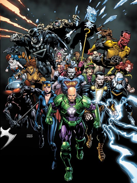 DC Comics Villains Month