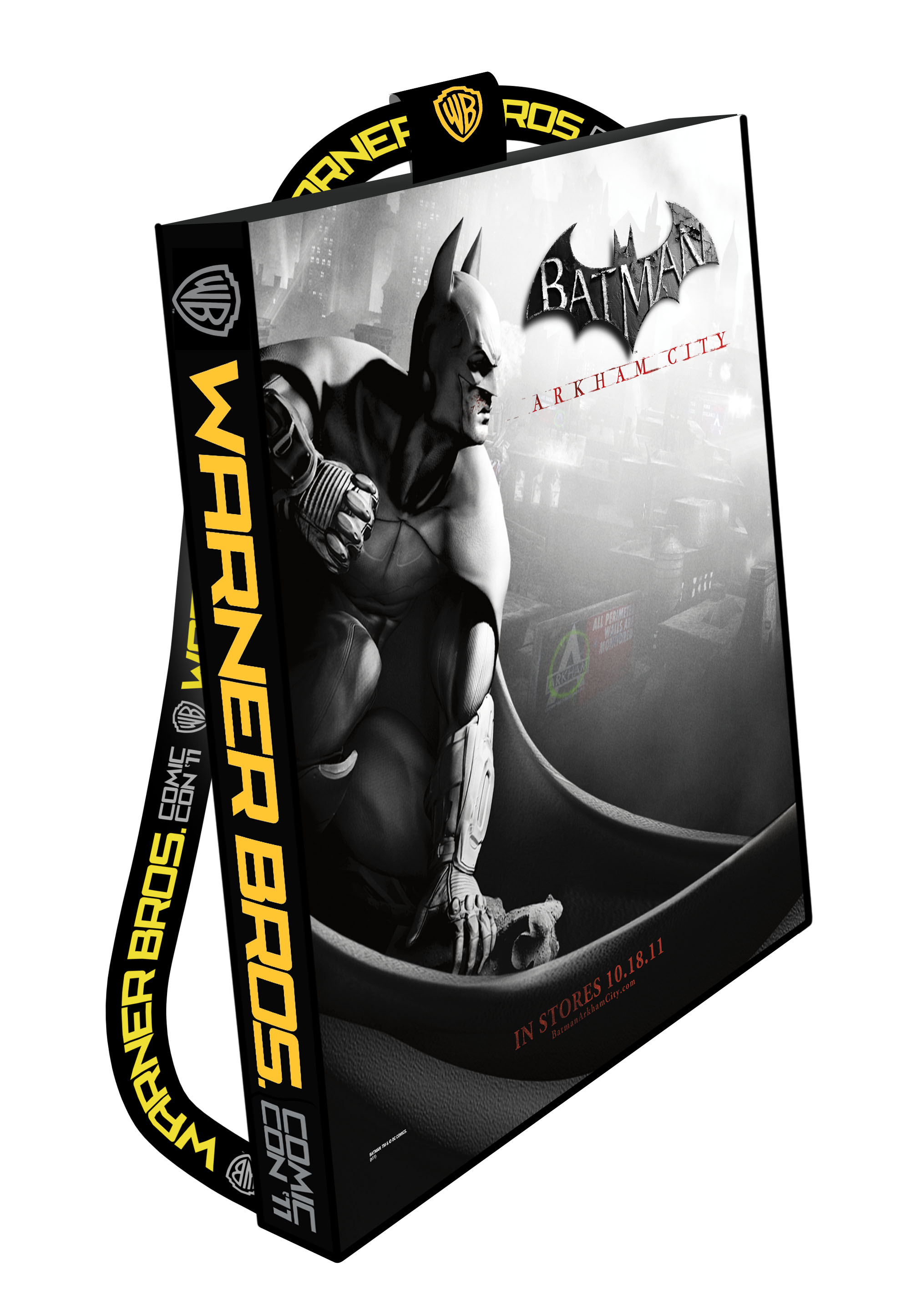 WB Batman: Arkham  City SDCC Bag