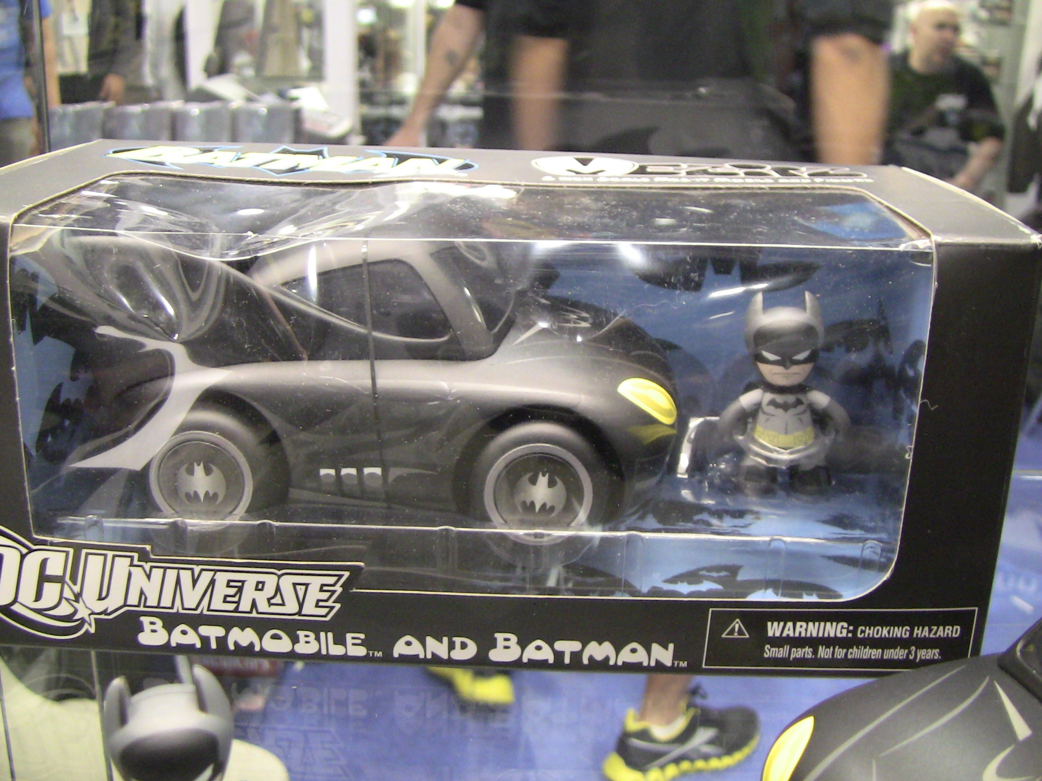 Mezco Batmobile Packaged