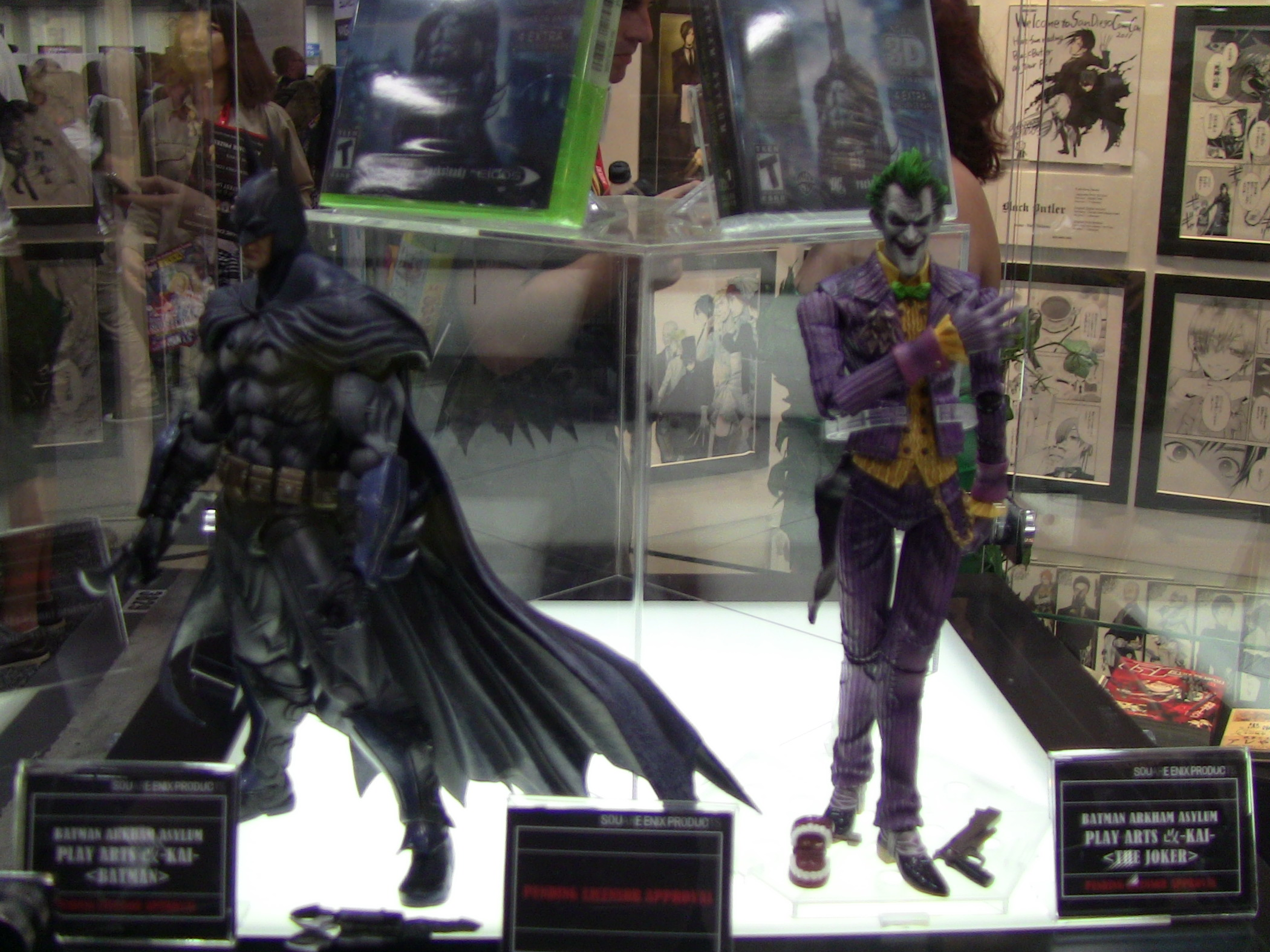 Square Enix Batman Arkham Asylum Action Figures