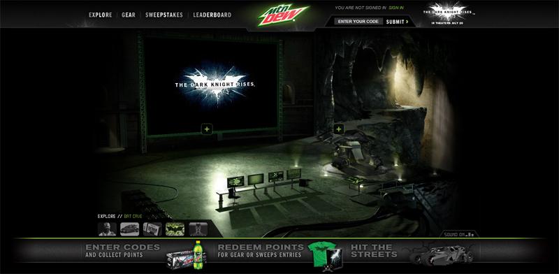 Dew Gotham City Batcave