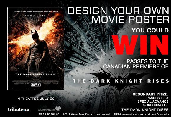 Tribute.ca The Dark Knight Rises Poster Contest