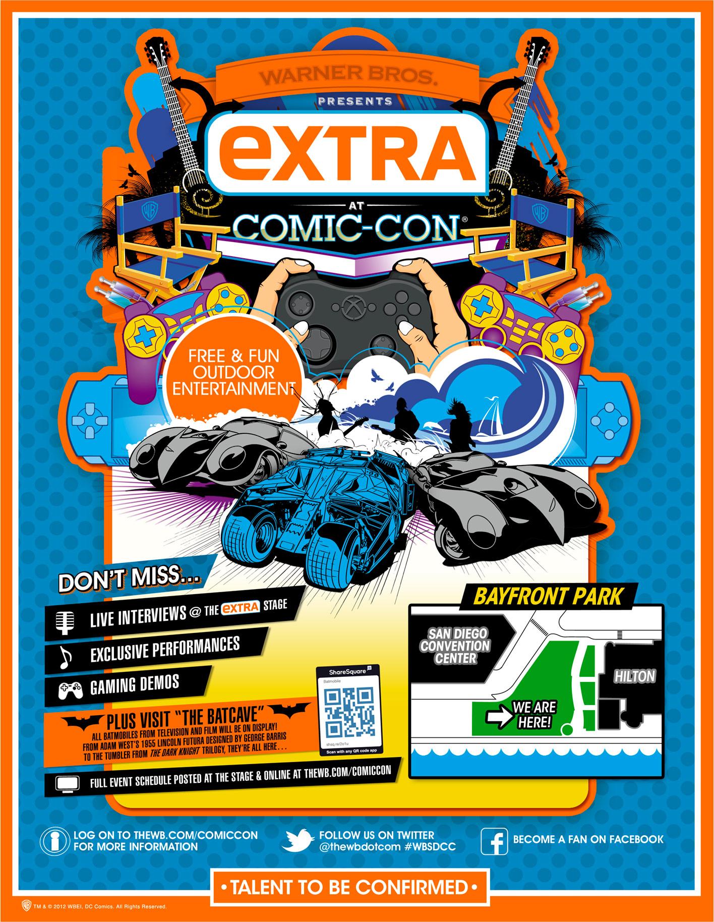 Warner Bros. Extra SDCC Promo