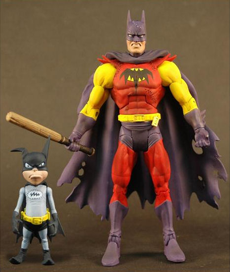 Batman Unlimited Batman of Zur-En-Arrh with Batmite