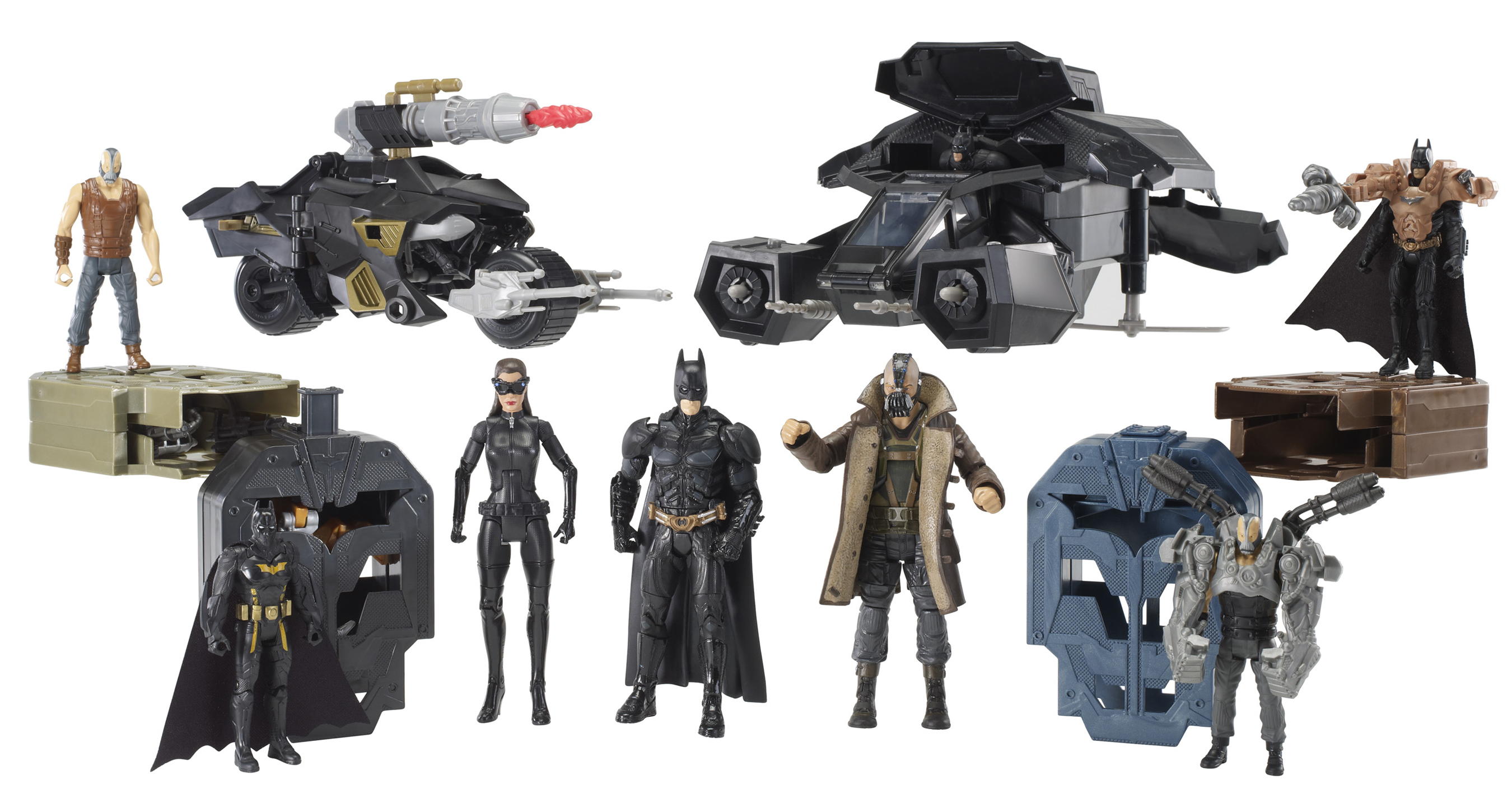 Mattel The Dark Knight Rises Figures