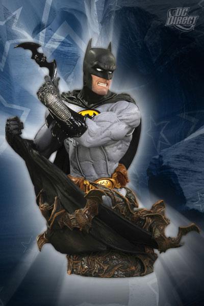 Gary Frank Batman Bust