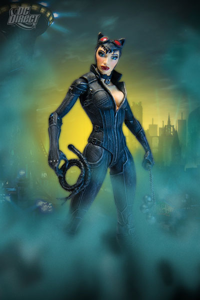 DC Direct Batman: Arkham City Series 2-Catwoman