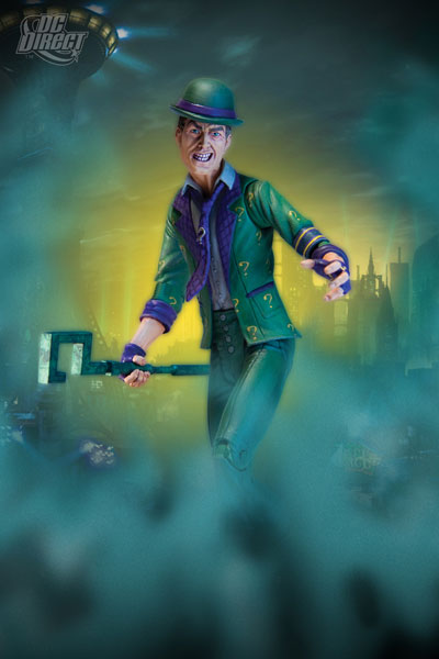 DC Direct Batman: Arkham City Series 2-Riddler
