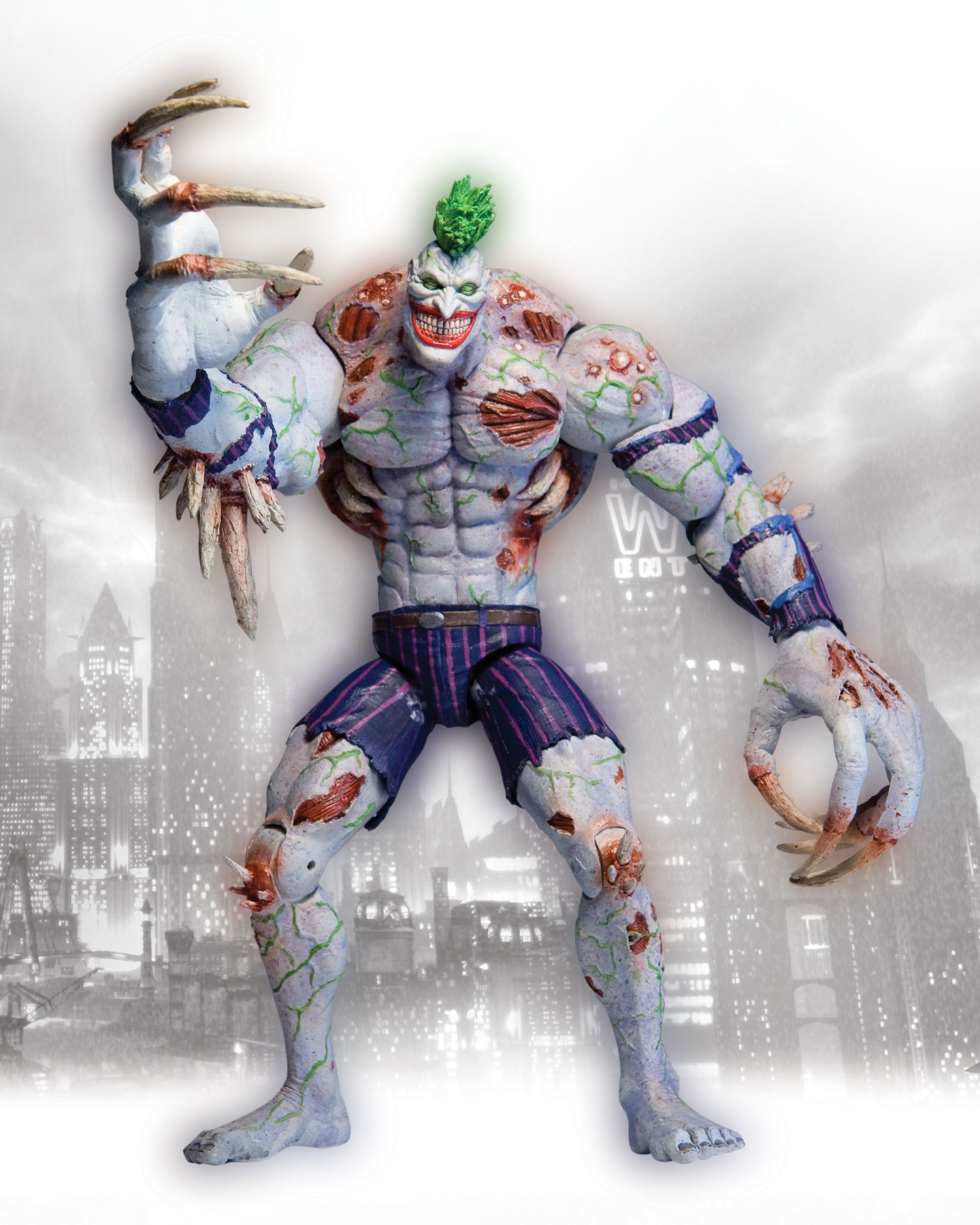 Batman: Arkham Asylum Titan Joker Deluxe Action Figure