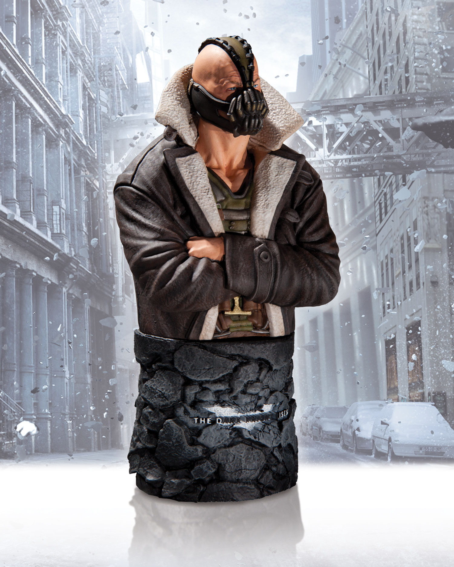 The Dark Knight Rises Winter Bane Bust