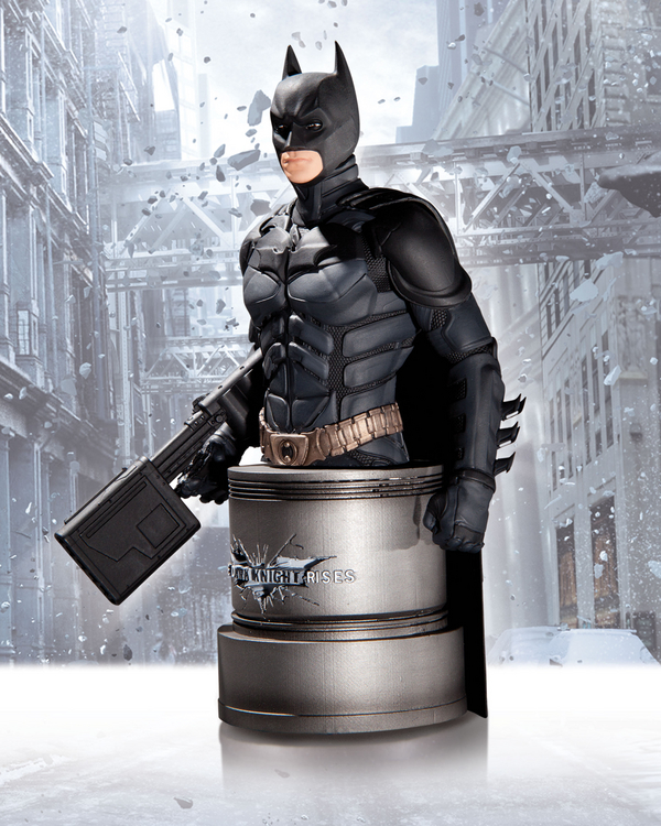 The Dark Knight Rises-Batman EMP Rifle Bust