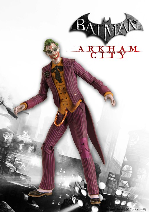 DC Direct Batman: Arkham City Joker Variant