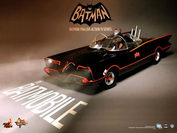 Hot Toys 1960's Batmobile