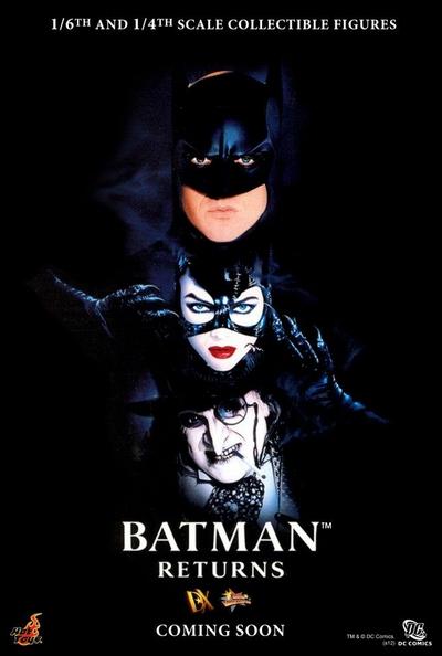 Hot Toys Batman Returns Announcment