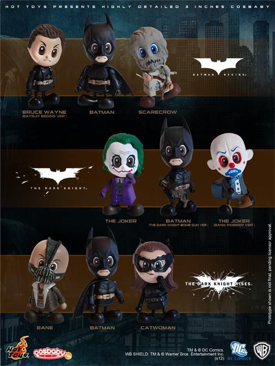 Hot Toys Batman Cosbaby Series