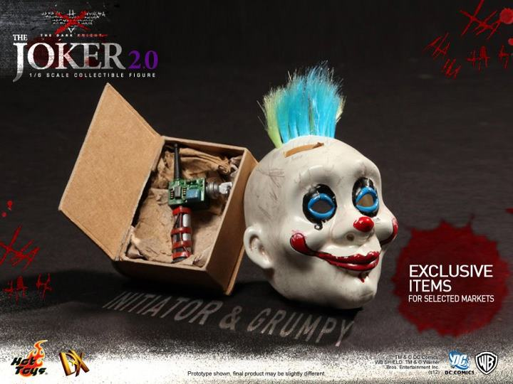 Hot Toys The Dark Knight Joker 2.0