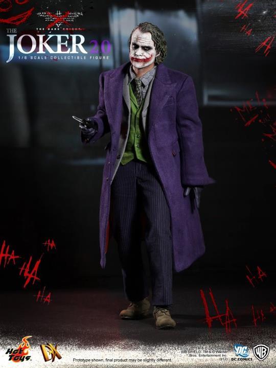 Hot Toys The Dark Knight Joker 2.0