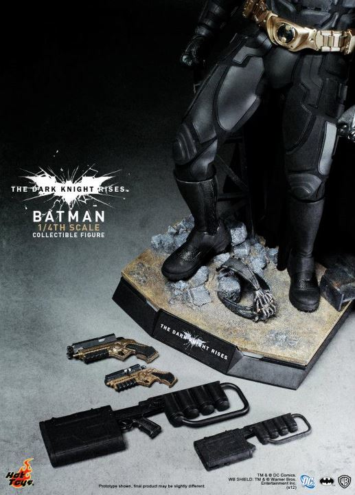 Hot Toys The Dark Knight Rises 1/4th Scale Batman