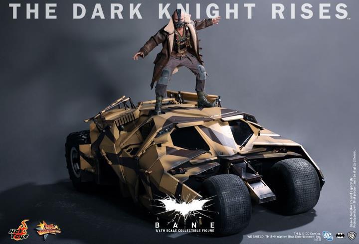 Hot Toys The Dark Knight Rises Bane