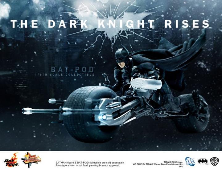 Hot Toys The Dark Knight Rises Bat-Pod