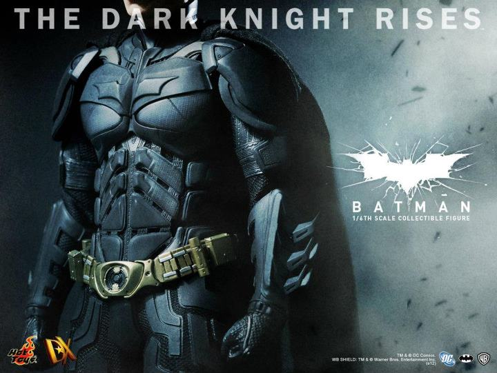 Hot Toys The Dark Knight Rises DX Batman Teaser