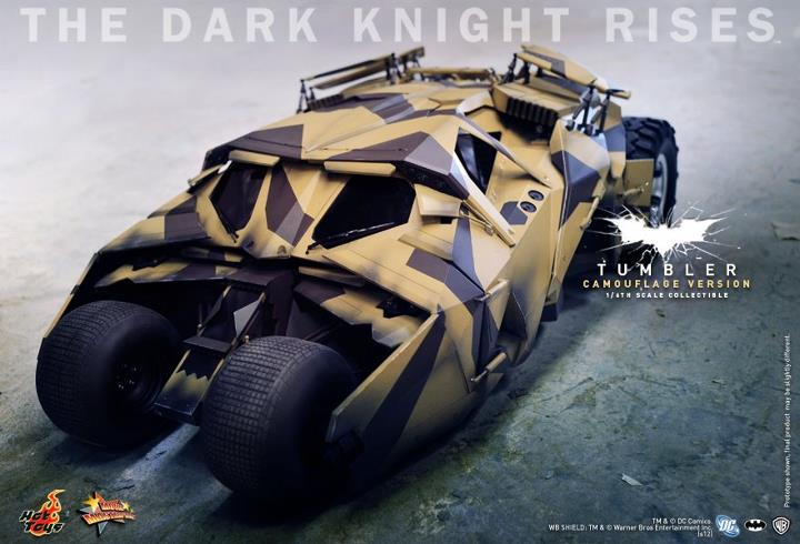 Hot Toys The Dark Knight Rises Camo Tumbler