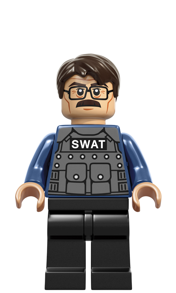 Lego Commissioner Gordon