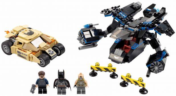 LEGO The Bat vs Bane