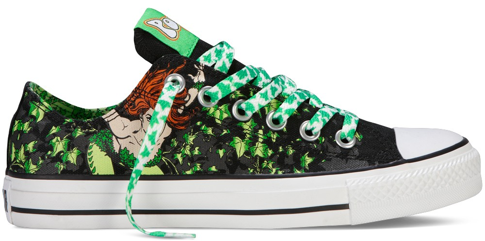 dc comics converse shoes poison ivy character