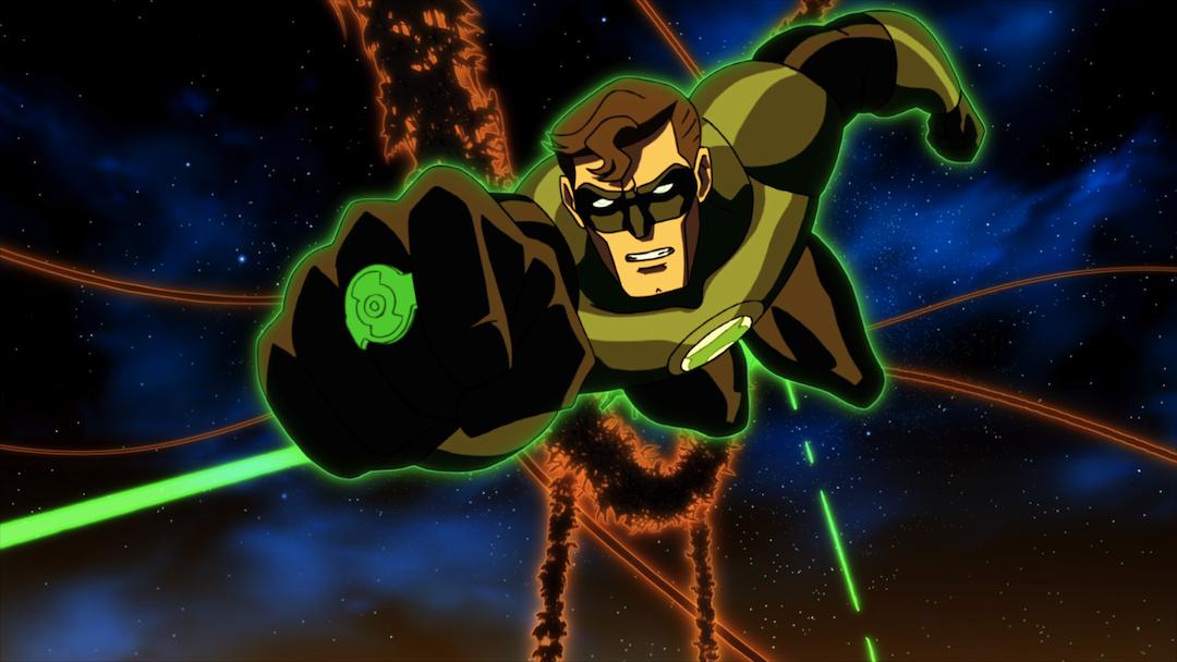 Green Lantern: Emerald Knights Screenshot