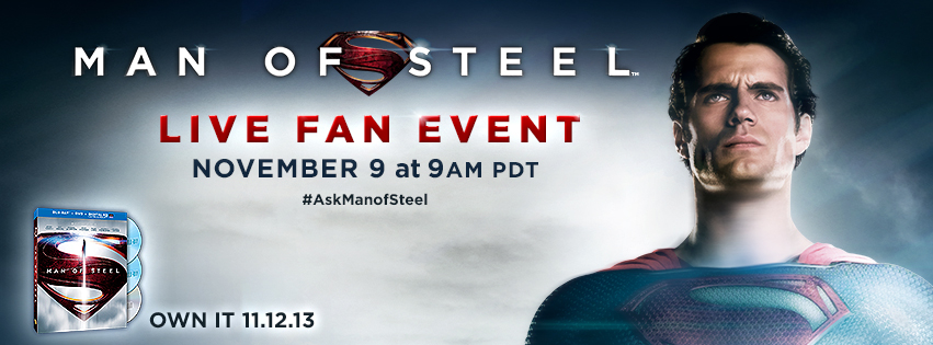 Man of Steel Live Event
