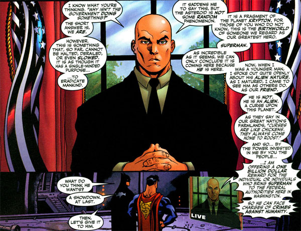 Superman/Batman: Public Enemies Panel
