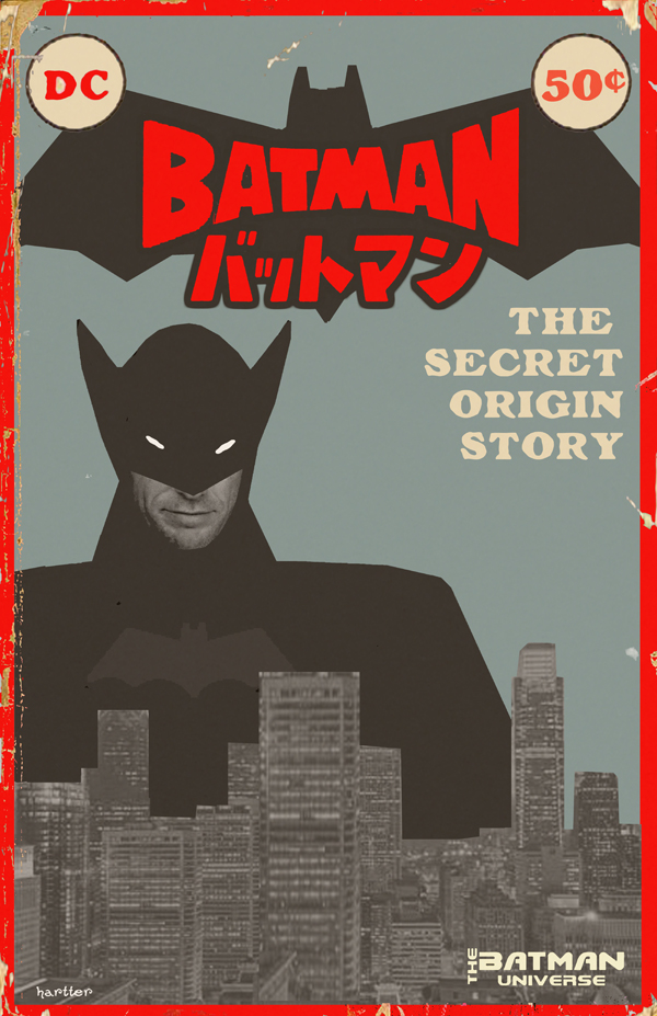 Sean Hartter Faux Batman Japanese Book Cover