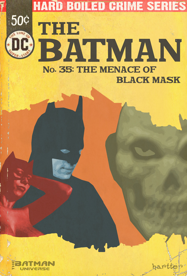 Sean Hartter Faux Batman Paperback Cover