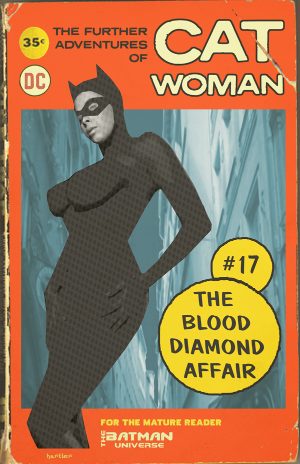 Sean Hartter Faux Catwoman Book Cover