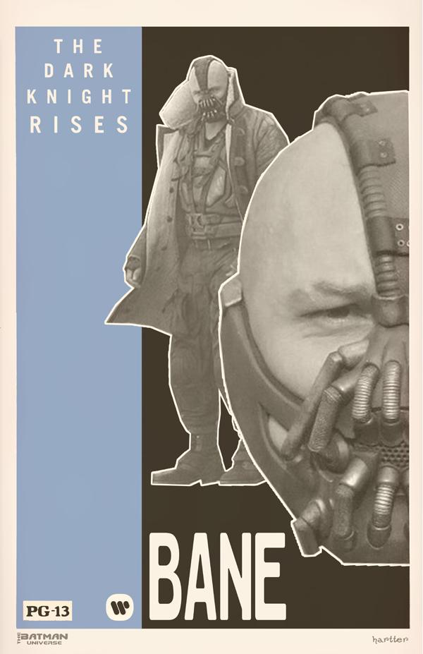 Sean Hartter Grindhouse Bane Poster