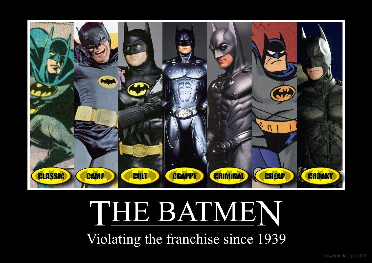 Batmen Through History