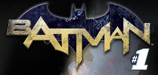 Batman #1 Logo