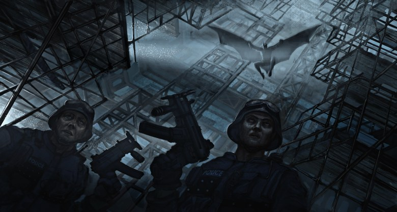 The Dark Knight Rises Environment Concept Art