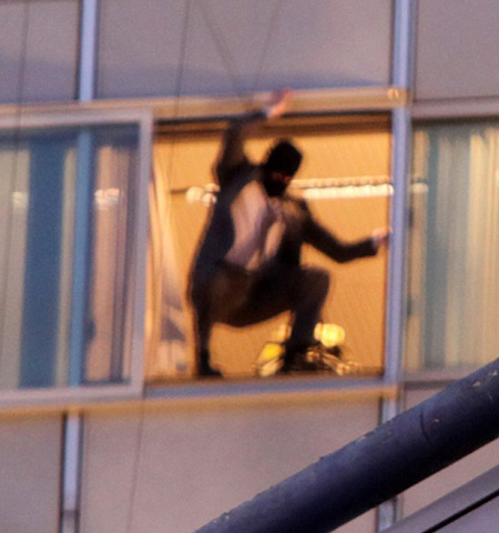 The Dark Knight Rises Masked Man