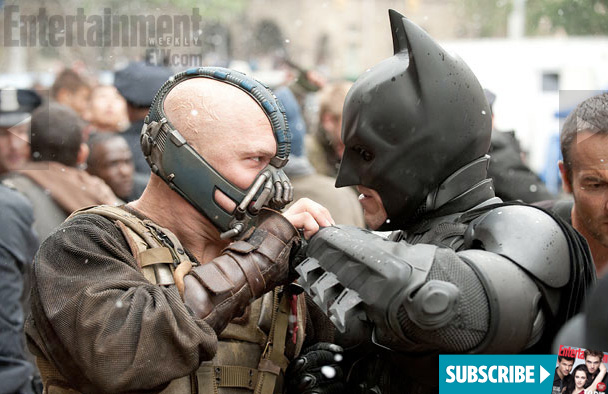 The Dark Knight Rises Bane vs Batman