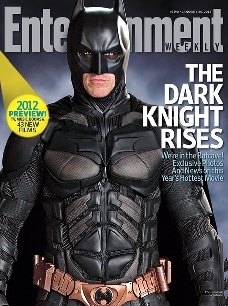 Entertainment Weekly The Dark Knight Rises Cover