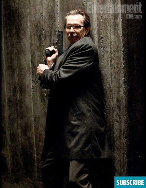 The Dark Knight Rises James Gordon