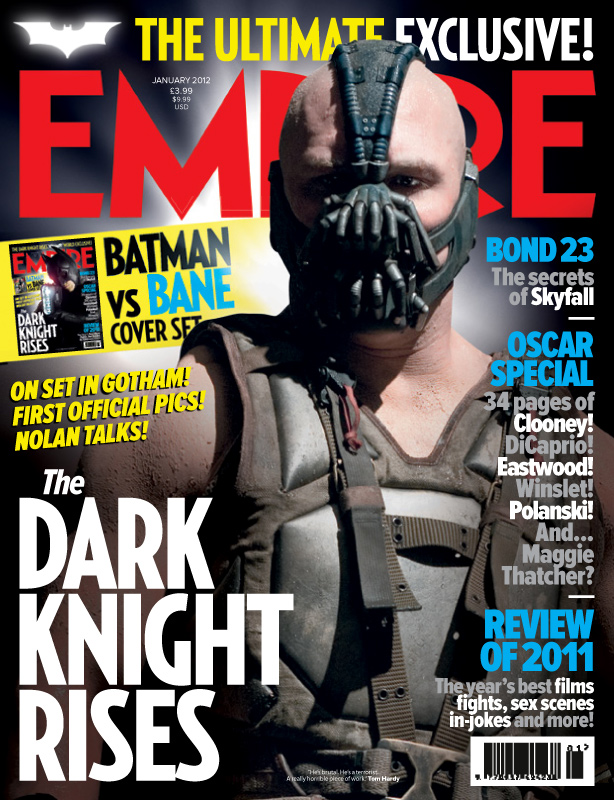 Empire The Dark Knight Rises Bane Cover