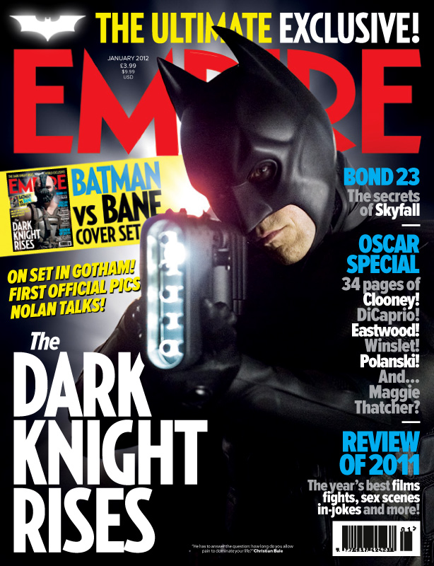 Empire The Dark Knight Rises Batman Cover