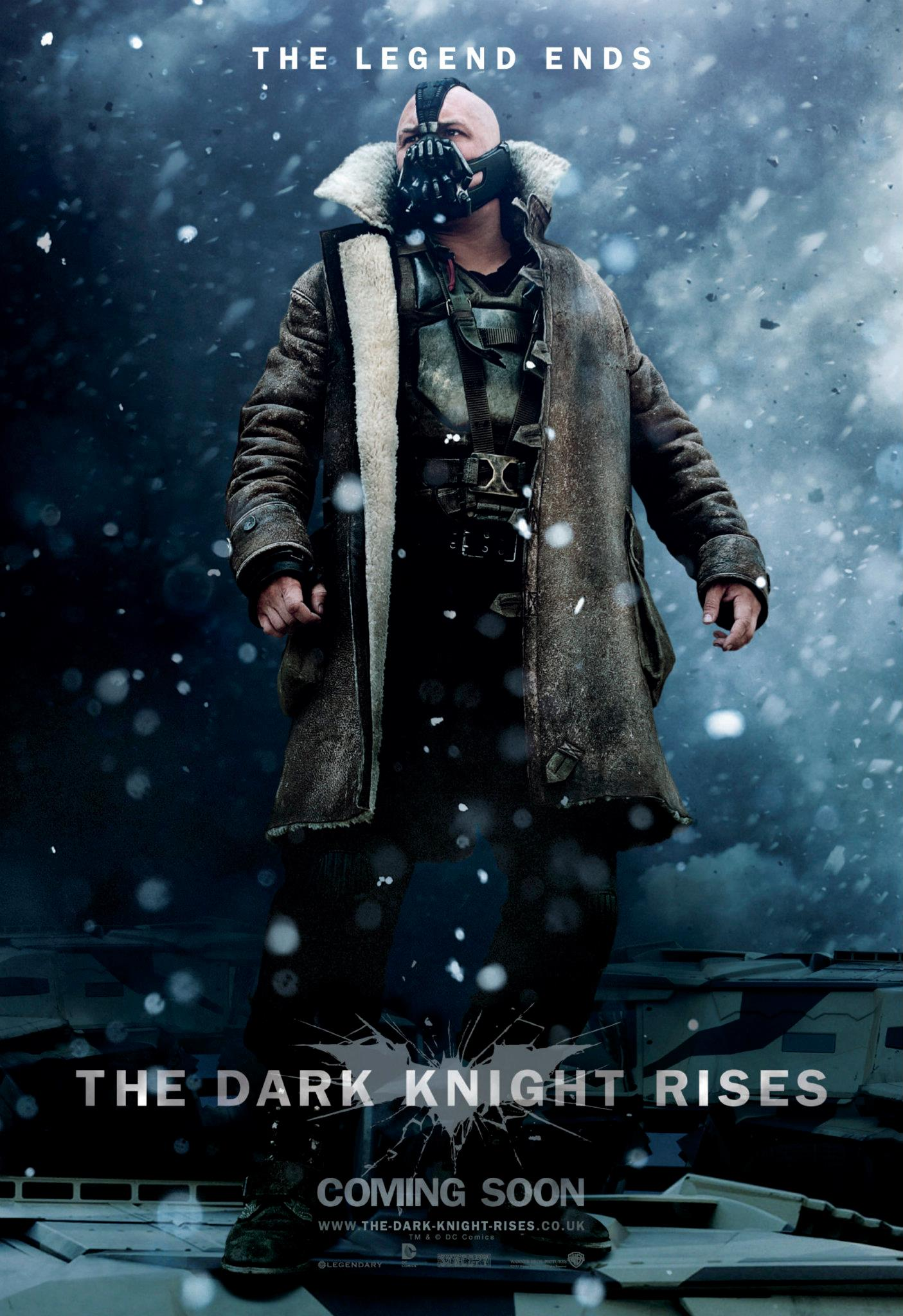 The Dark Knight Rises Bane US Character Poster