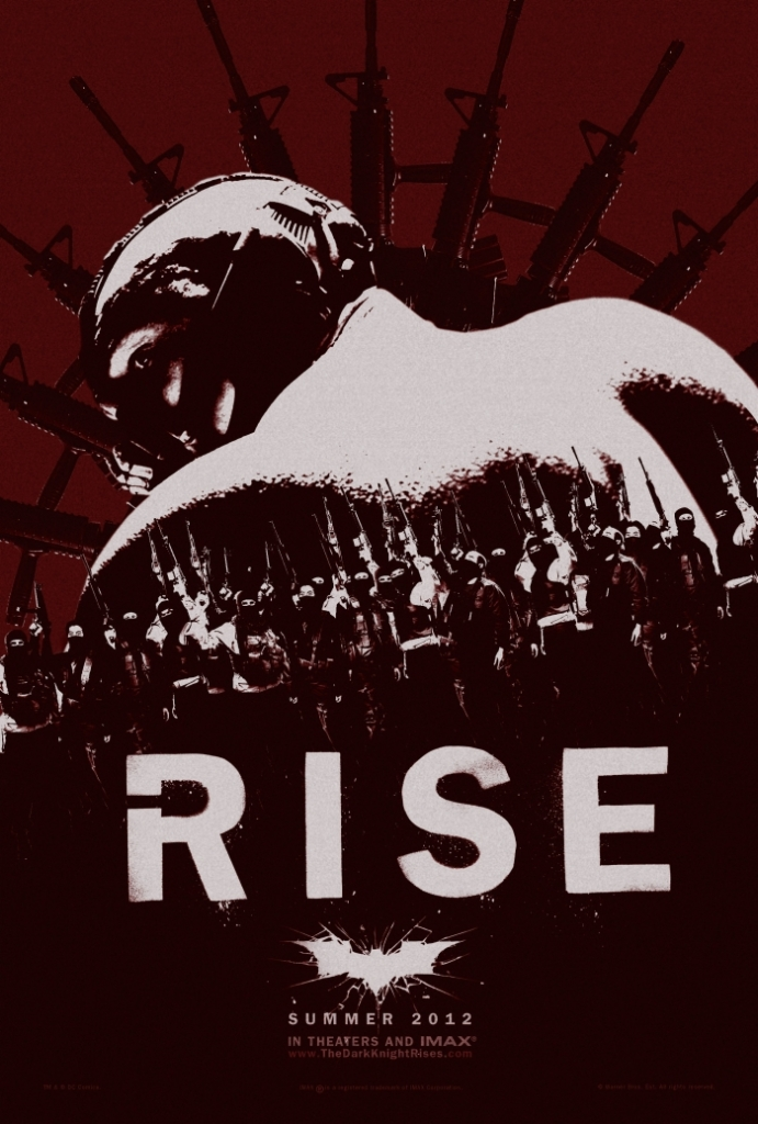 The Dark Knight Rises Bane Rise Poster