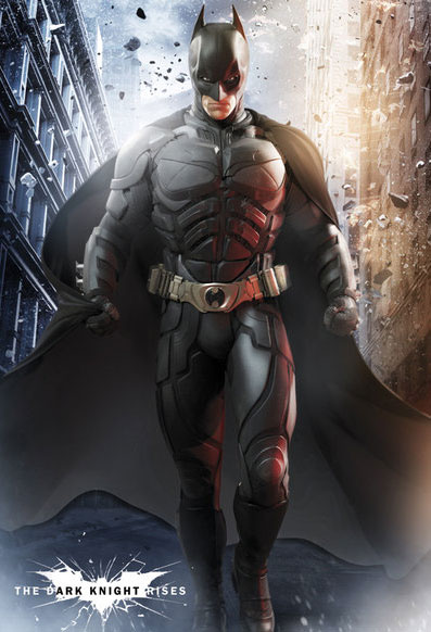 The Dark Knight Rises Promo Art-Batman