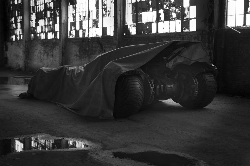 Man of Steel 2 Batmobile Teaser