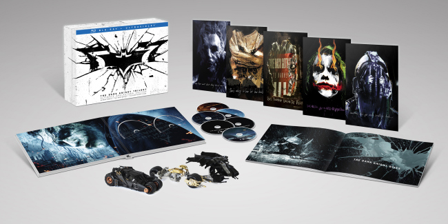 The Dark Knight Trilogy Box Set